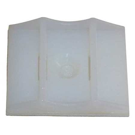 Cable Tie Mounting Pad 2 Way Natrl PK100 Model 6EEE6 by USA Value Brand Electric Cable Clamps