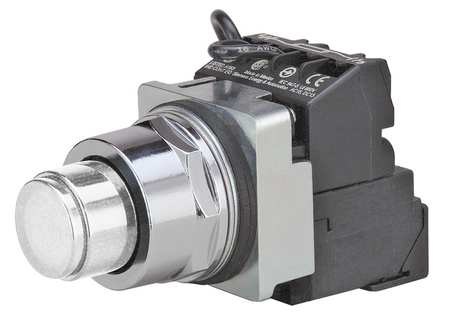 Illuminated Push Button 1NO/1NC 120VAC Model 52PT6GBAB by USA Siemens Electrical Pushbutton Complete Units