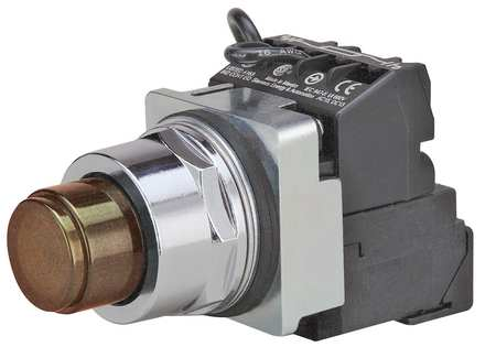 Illuminated Push Button 30mm 1NO/1NC Model 52PT6G9A by USA Siemens Electrical Pushbutton Complete Units
