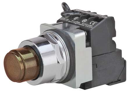 Illuminated Push Button 30mm 1NO/1NC Model 52PT6D9A by USA Siemens Electrical Pushbutton Complete Units