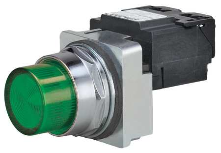 Pilot Light Complete Incand 480V 30mm GR by USA Siemens Electrical Control Pilot Lights