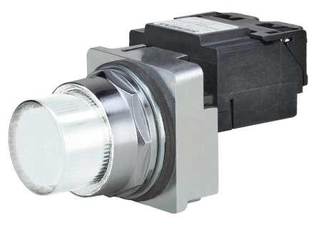 Pilot Light LED Transformer White 240VAC by USA Siemens Electrical Control Pilot Lights