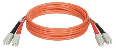 Fiber Optic Patch Cord SC/SC 1m Orange by USA Tripp Lite Fiber Optic Cable