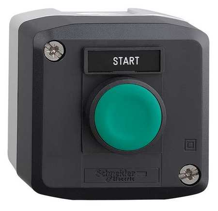 Push Buttn Cntrol Station 1NO Start 22mm by USA Schneider Electrical Push Button Control Stations