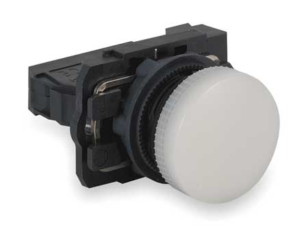Pilot Light Complete 22mm White by USA Schneider Electrical Illuminated Pushbuttons