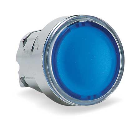 Illum Push Button Operator 22mm Blue Model ZB4BH063 by USA Schneider Electrical Illuminated Pushbuttons