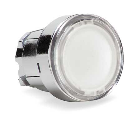 Illum Push Button Operator 22mm White Model ZB4BW313 by USA Schneider Electrical Illuminated Pushbuttons