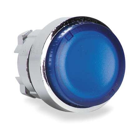 Illum Push Button Operator 22mm Blue Model ZB4BW36 by USA Schneider Electrical Illuminated Pushbuttons