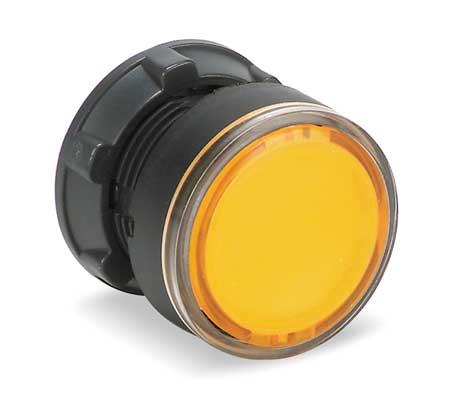 Illum Push Button Operator 22mm Yellow Model ZB5AH053 by USA Schneider Electrical Illuminated Pushbuttons