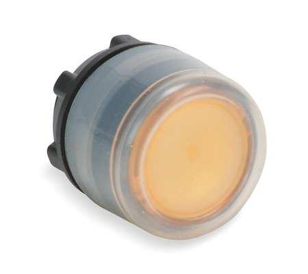 Illum Push Button Operator 22mm Yellow Model ZB5AW553 by USA Schneider Electrical Illuminated Pushbuttons