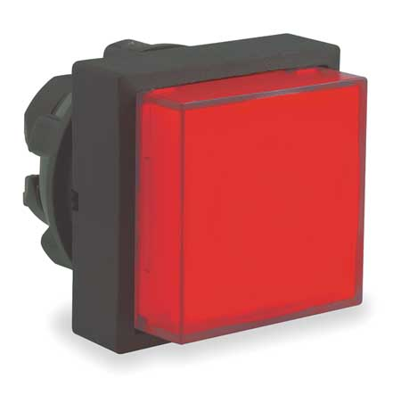 Illum Push Button Operator 22mm Red Model ZB5CW143 by USA Schneider Electrical Illuminated Pushbuttons