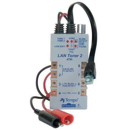 LAN Toner Datacom LED Display by USA Greenlee Data & Communication Test Equipment