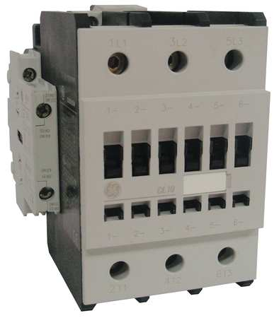 IEC Magnetic Contactr 208VAC 96A 1NC/1NO by USA GE Electrical Motor Magnetic Contactors