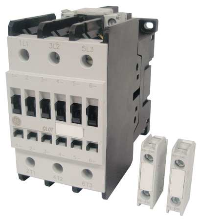 IEC Magnetic Contactr 208VAC 48A 1NC/1NO by USA GE Electrical Motor Magnetic Contactors