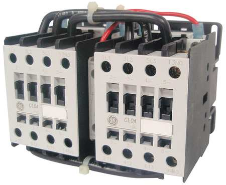 IEC Magnetic Cntactr 208VAC 62A Revrsing by USA GE Electrical Motor Magnetic Contactors
