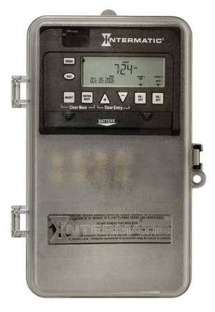 Electronic Timer 7 Days SPDT Model ET1715CPD82 by USA Intermatic Electronic Timers