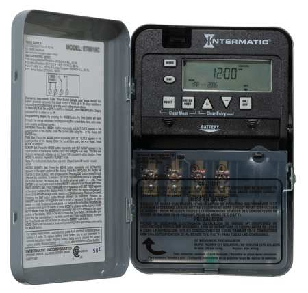 Electronic Timer 7 Days SPDT Model ET1715CR by USA Intermatic Electronic Timers