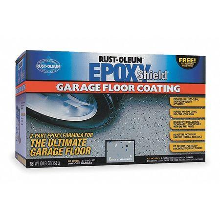 Garage Floor Kit,120 Fl. Oz.,tan
