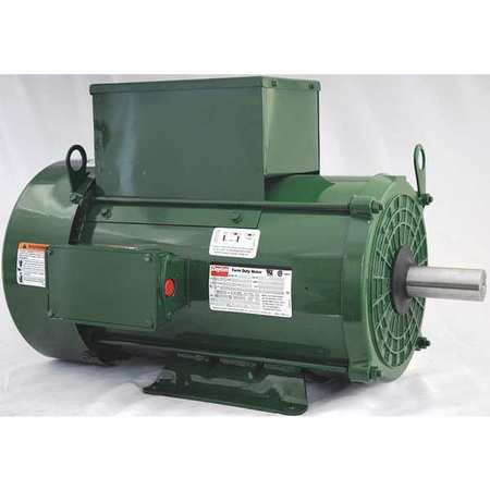 Farm Dty Mtr Cap Start TEFC 10hp 1730rpm by USA Dayton AC Farm Duty Motors