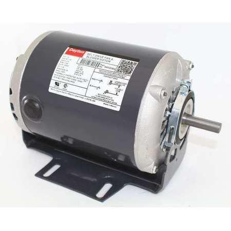Motor 1/3 HP Split Ph 1725 RPM 115 V Model 6K030 by USA Dayton HVAC Belt Drive Motors