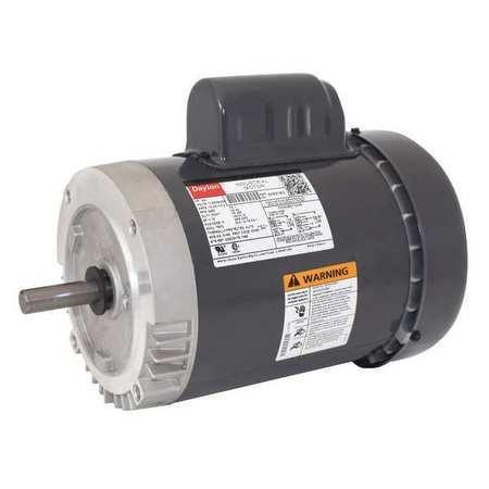 GP Mtr CS TEFC 3/4 HP 3450 rpm 56C Model 6K831 by USA Dayton General Purpose Capacitor Start AC Motors