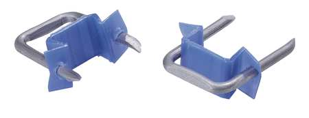 Cable Staple 1/2In Steel Pk100 by USA Gardner Bender Electric Cable Supports