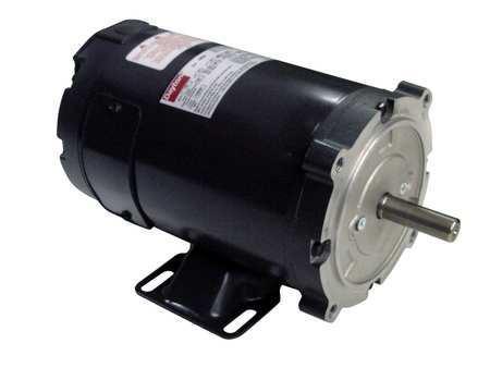 DC Motor PM TENV 1/3 HP 1800 rpm 12VDC by USA Dayton DC Permanent Magnet Motors