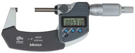 Mitutoyo Digital Micrometer Outside 1 to 2 In