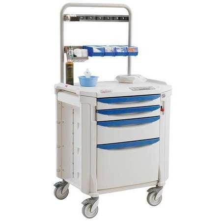 Metro Procedure Cart 63 3/16 Hx22 3/8Wx34 1/4D