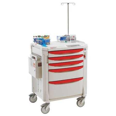 Metro IV Therapy Cart 38-1/2Hx32 1/4Wx22 3/8D