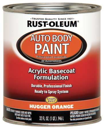 Auto Body Paint Perm Red