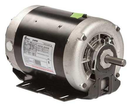 Mtr 3 Ph 1.5hp 1725 200 230/460 Eff 75.7 by USA Century HVAC Belt Drive Motors