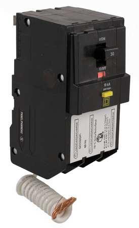 3P GFCI Plug In Circuit Breaker 30A 240VAC by USA Square D Circuit Breakers