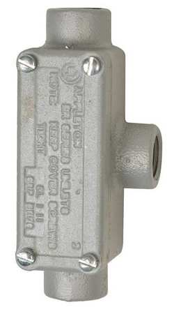 Conduit Outlet Body w/Cover Iron TB by USA Appleton Electrical Conduit Bodies & Covers
