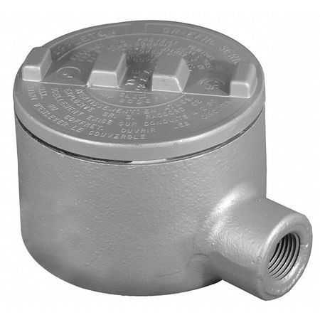 Conduit Outlet Body E 3/4 In. by USA Appleton Electrical Conduit Bodies & Covers