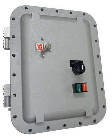 Combo Starter IEC 14 20A NEMA 7 HOA CCT by USA Dayton Electrical Motor NEMA Combination Starters