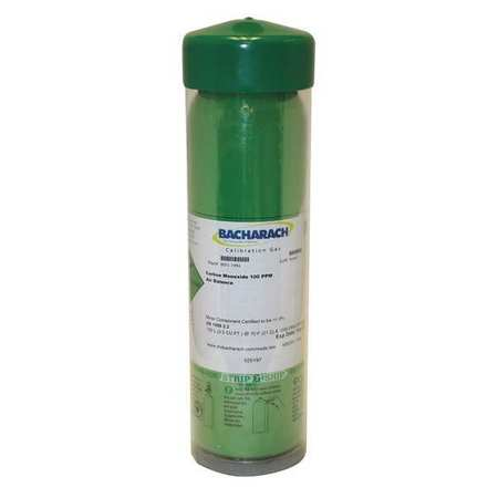 Calibration Gas Cylinder,500ppm CO 103L -  BACHARACH, 24-0492