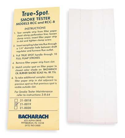 Filter Paper,PK40 -  BACHARACH, 21-0019