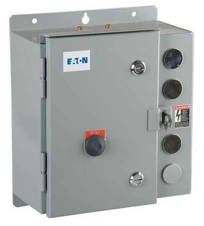 Motor Starter 6.70 in.D 3 Poles by USA Eaton Electrical Motor Magnetic Starters