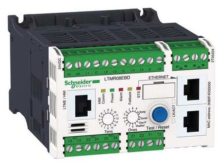 Motor Manager Modbus 100 240VAC 5 100A by USA Schneider Electrical Motor Overload Relays