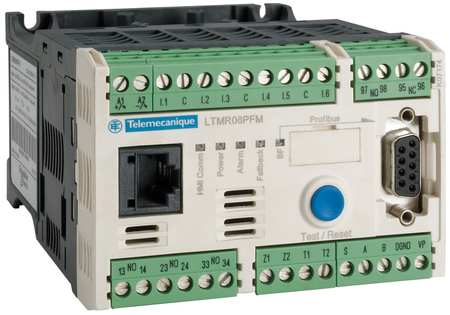 Motor Manager Profibus DP 24VDC 1.35 27A by USA Schneider Electrical Motor Overload Relays