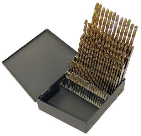 Chicago Latrobe Jobber Drill Bit Set List # 150T 60 Pc