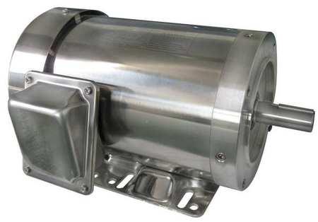 Washdown Motor 3 Ph TEFC 1 HP 1165 rpm Model 6WY36 by USA Dayton DC Washdown Motors