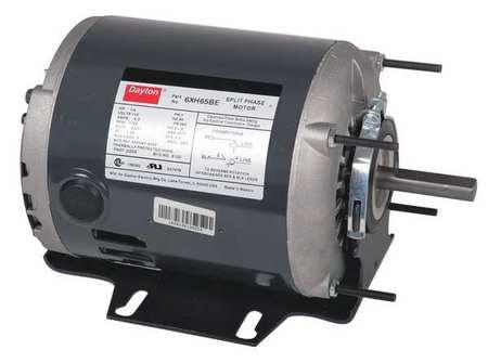 Mtr 1/3 1/9HP 1725/1140RPM 115V by USA Dayton General Purpose Split Phase AC Motors