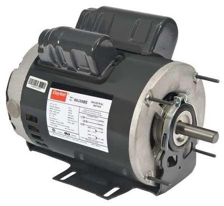 GP Mtr CSCR ODP 1 HP 1725 rpm 56 Model 6XJ36 by USA Dayton General Purpose Capacitor Start AC Motors