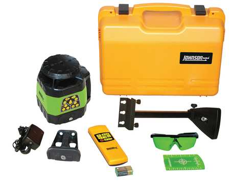 Rotary Laser Level,Int,Green,1200 ft.
