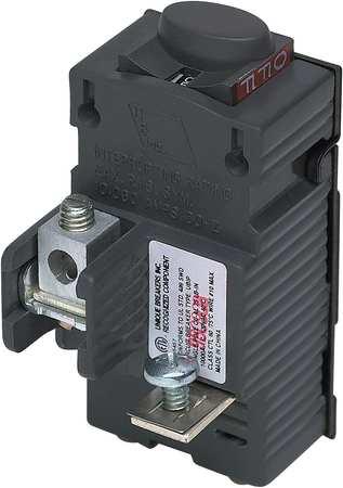1P Standard Plug In Circuit Breaker 30A 120VAC Model UBIP130 by USA Pushmatic Circuit Breakers