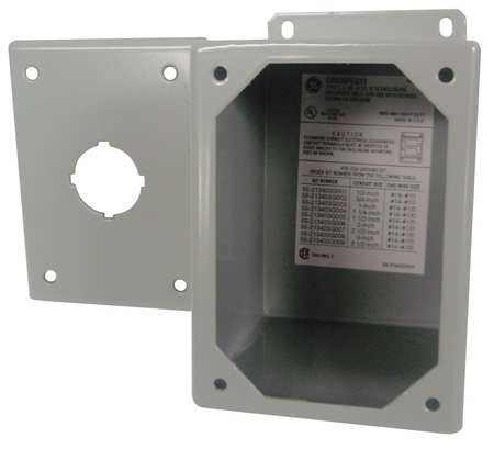 Pushbutton Enclosure6.50 in. H Steel by USA GE Electrical Pushbutton Enclosures & Accessories