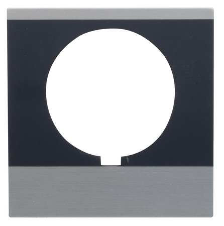 Legend Plate Rectangular Run by USA GE Electrical Pushbutton Accessories