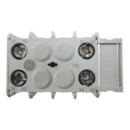 Aux Contact Block 2NC Front Mtg by USA GE Electrical Motor Auxiliary Contacts